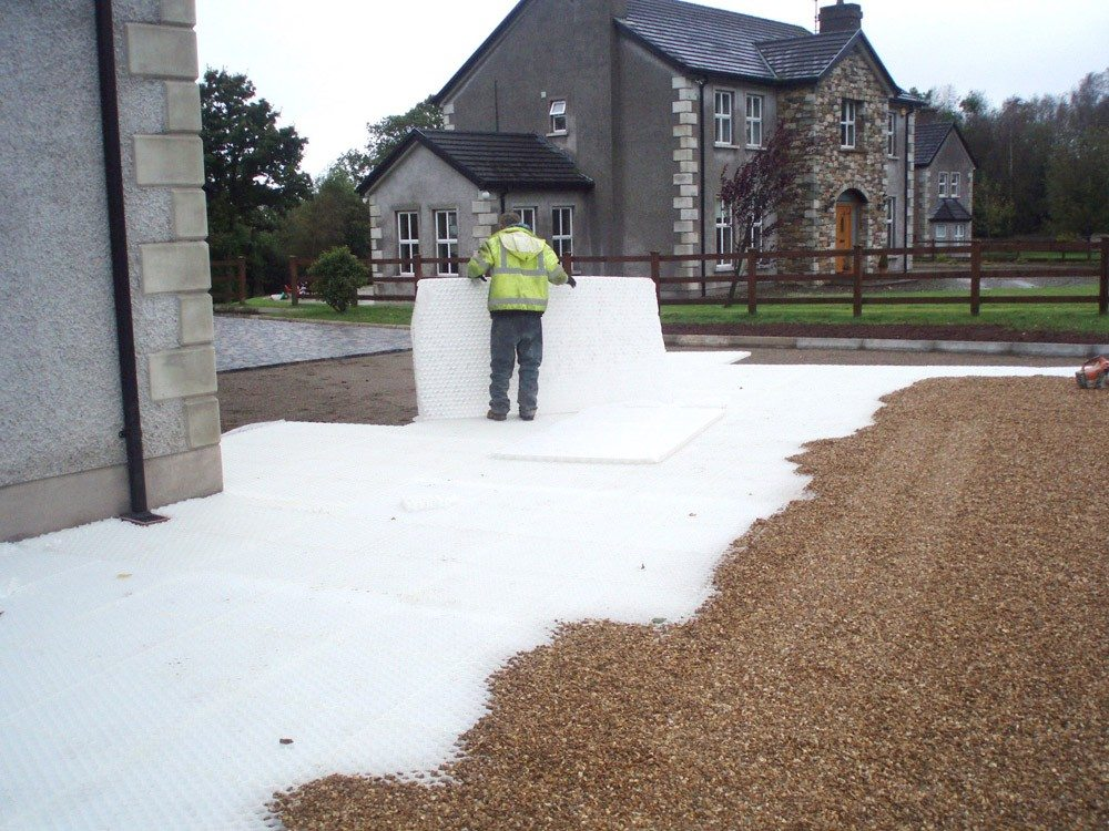 Gravel Stabilisation System by New Driveway Company Oxford.