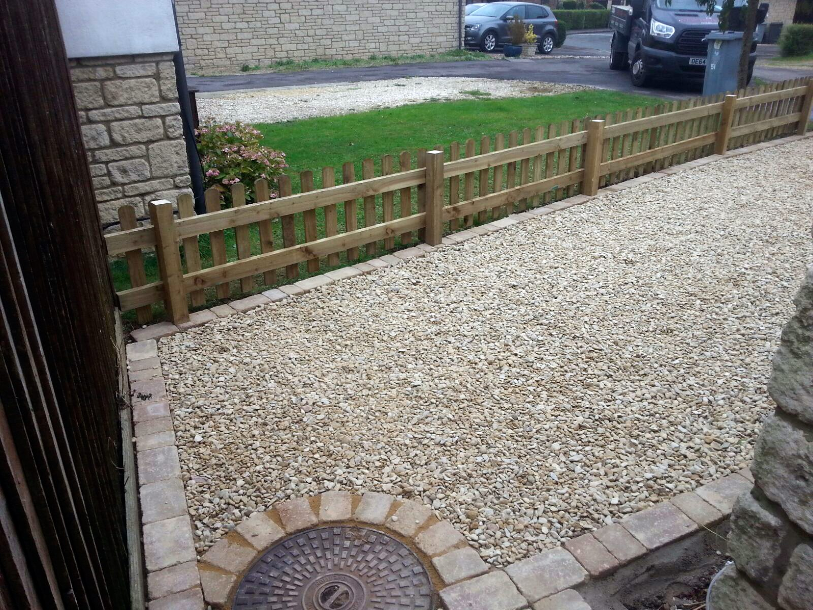 New Gravel Driveway Witney Oxfordshire The New Driveway