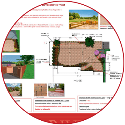 New Driveway Company, specification
