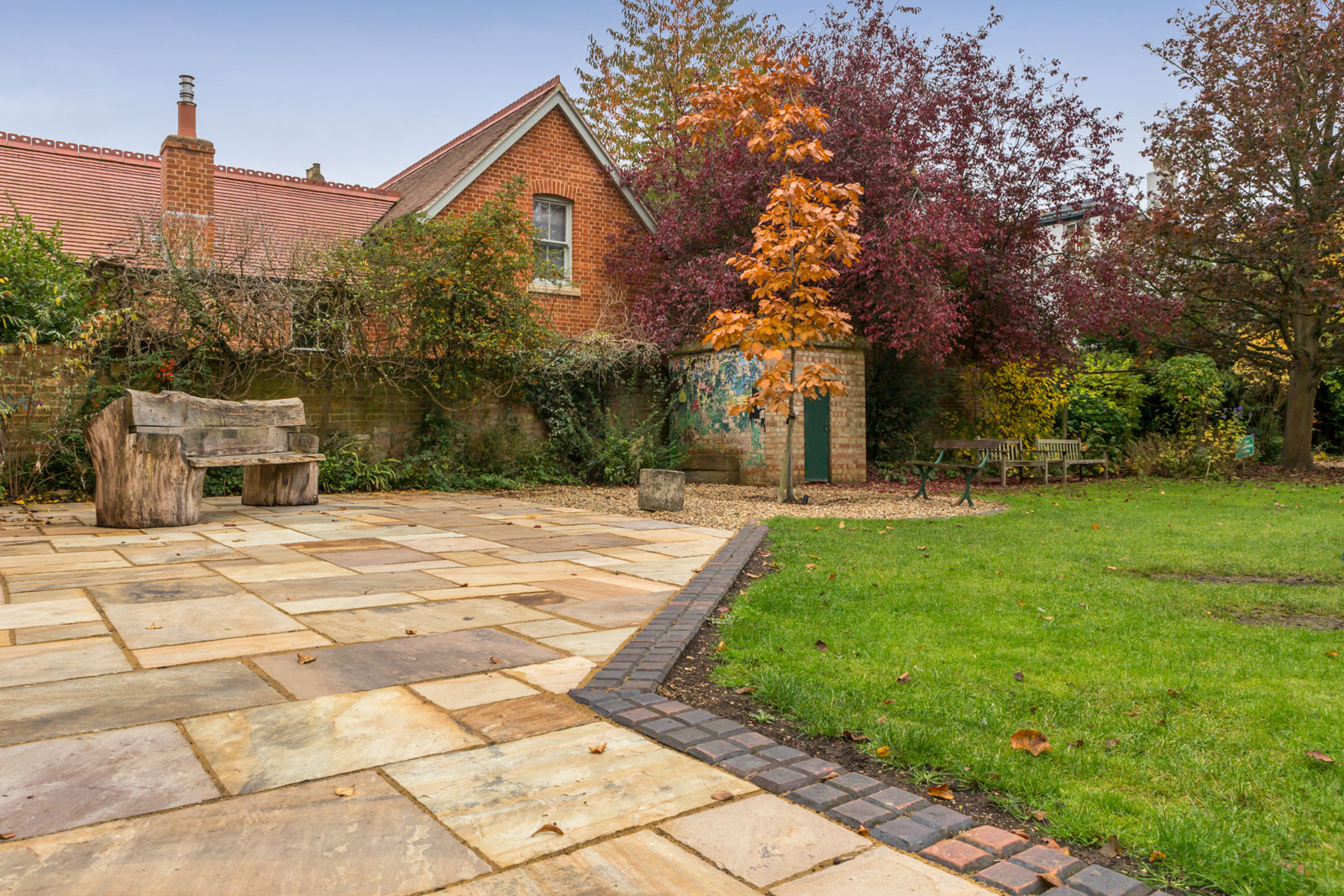 New School Patio Oxford, Summertown | The New Driveway Company