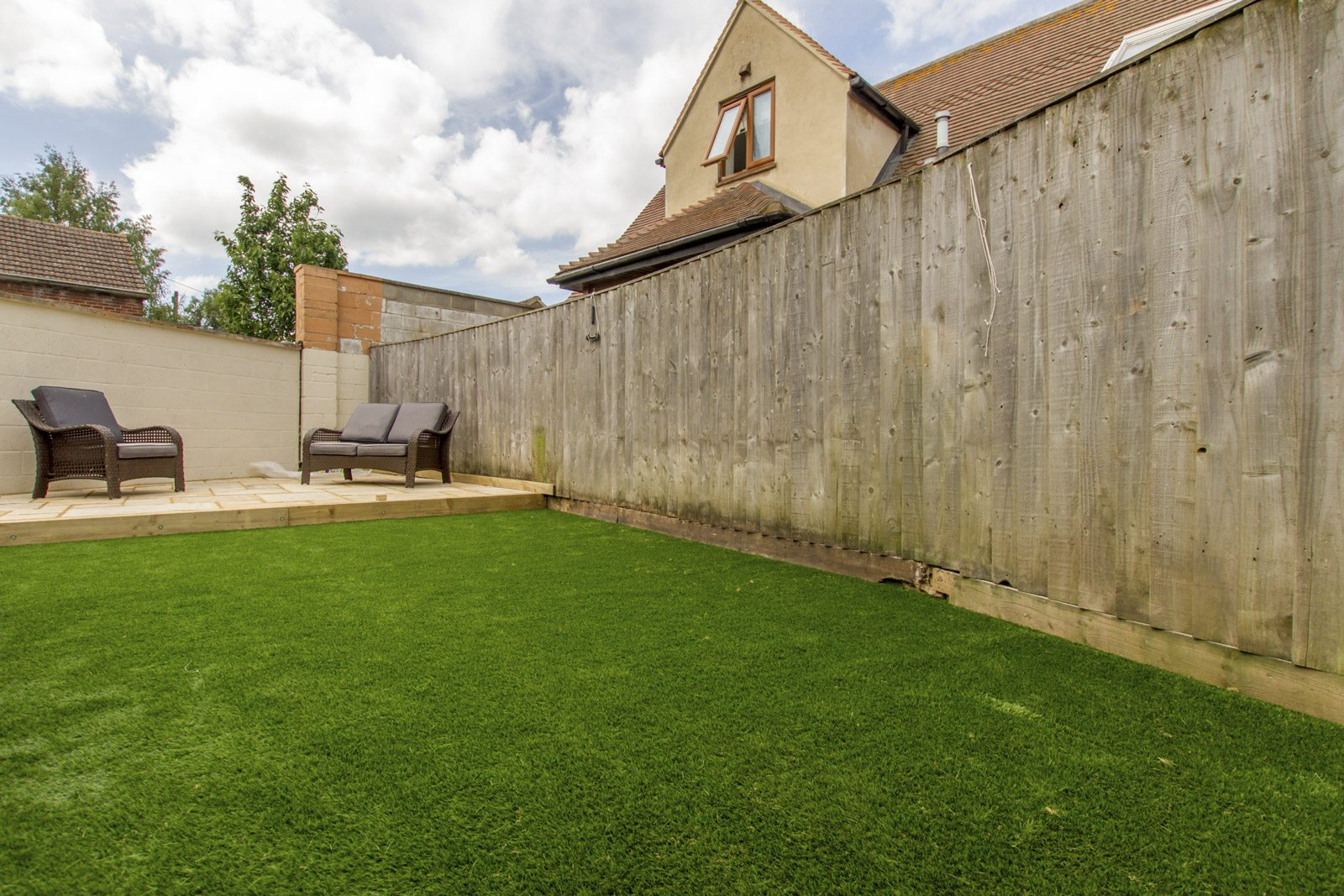how to lay artificial grass, new driveway company oxford