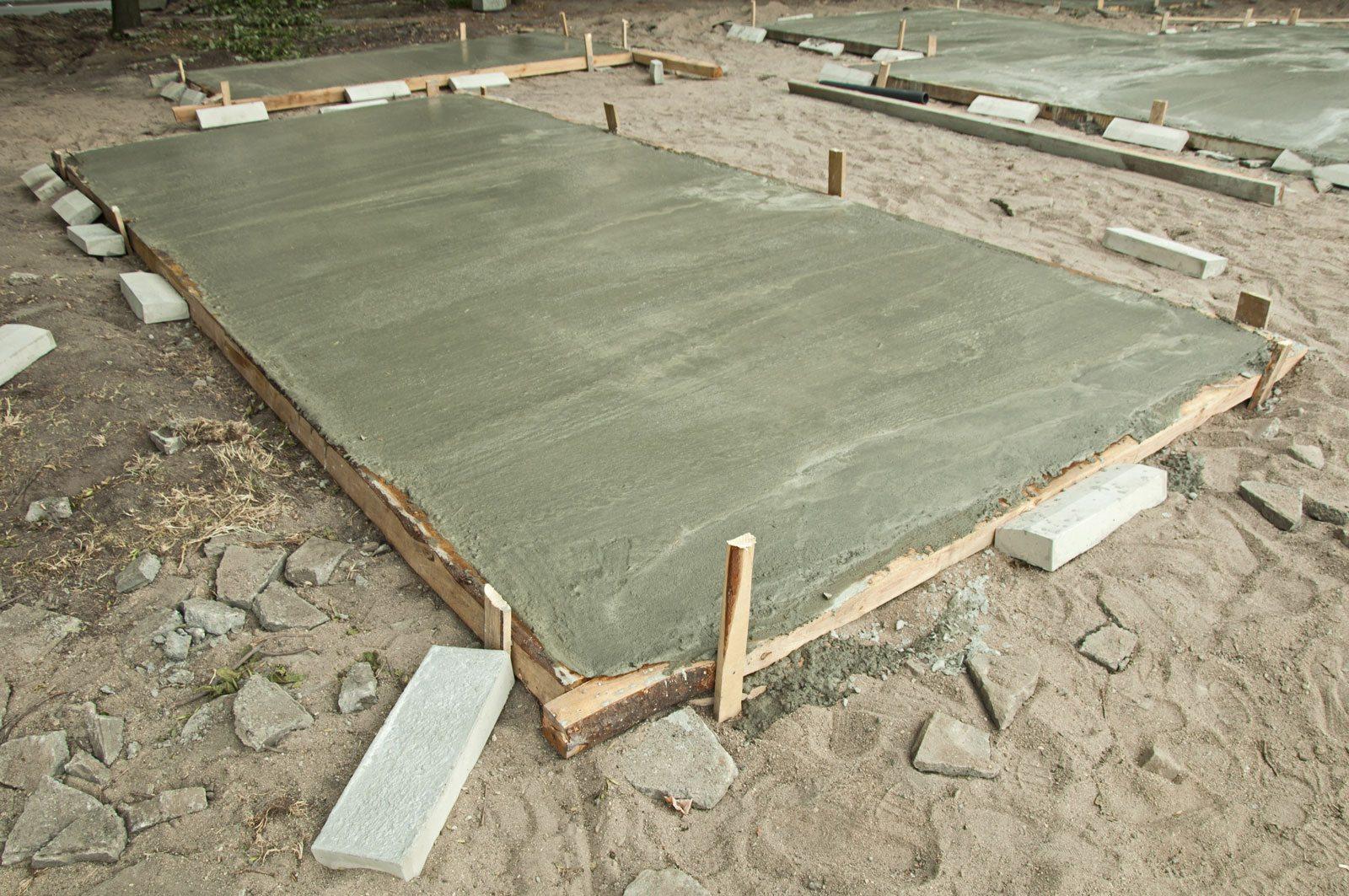 New Driveway Company, Concrete hardstanding