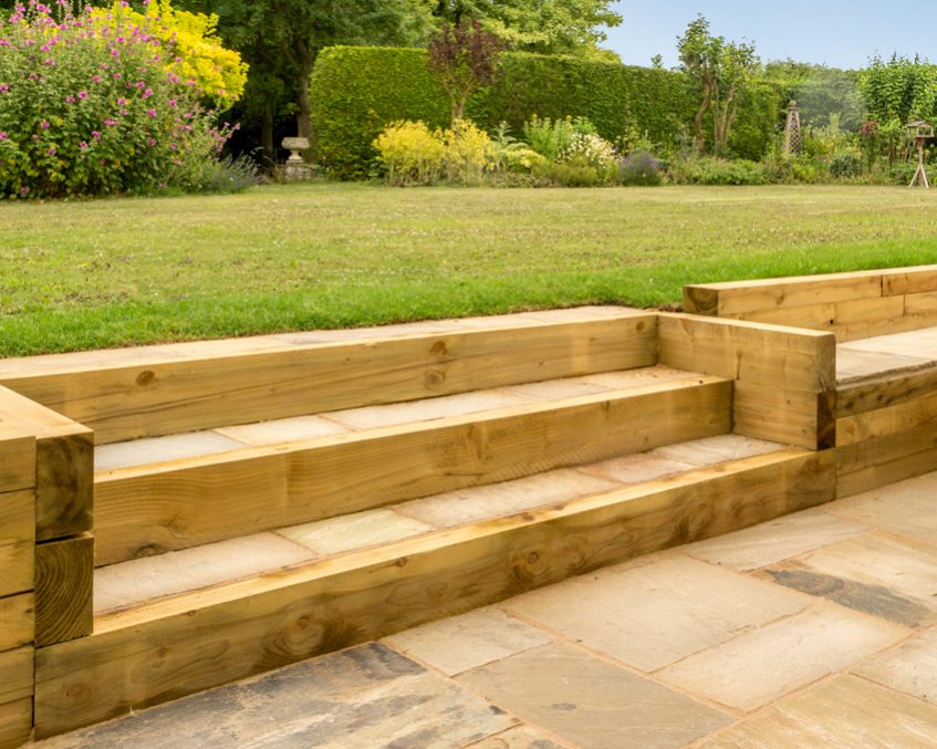 Garden Retaining Wall Wood - Popular Garden 2017