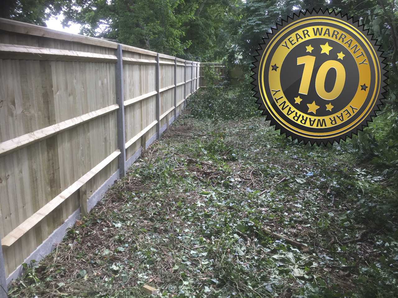New Fencing, Testimonial, New Driveway Company, Hampshire