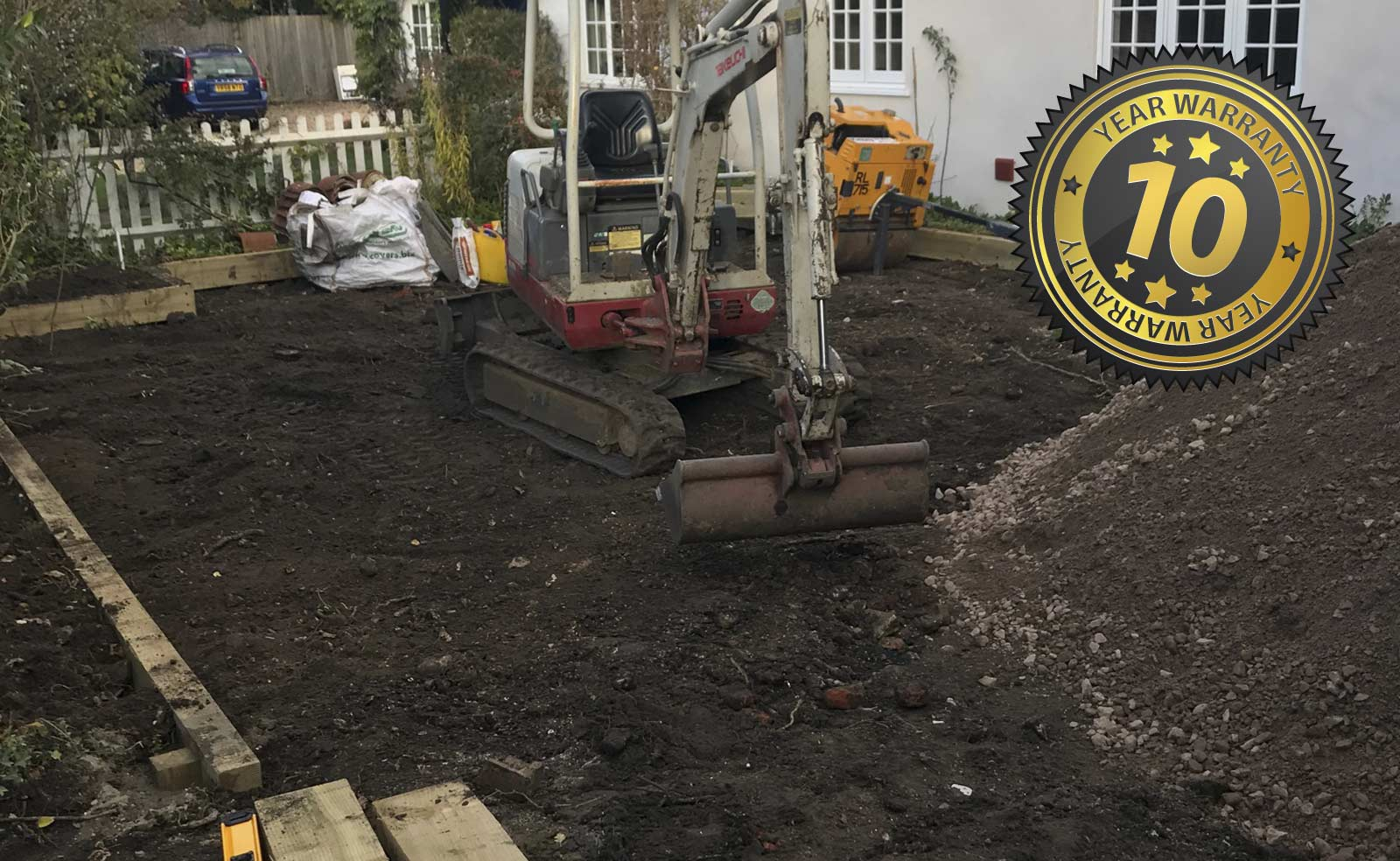 New Gravel Driveway, Clandon, Guildford, New Driveway Company