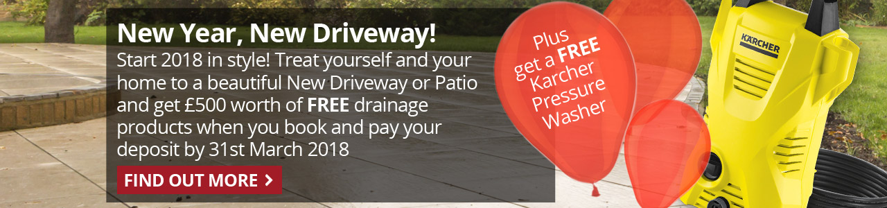 New Driveway Company, New Year, New Driveway, Slider, Special Offer