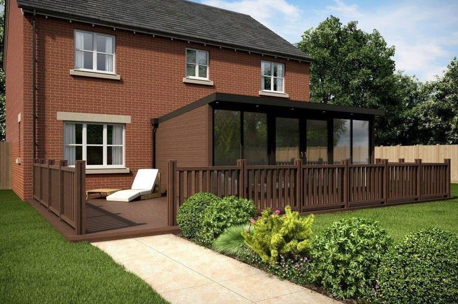 New Driveway Company, 25 year warranty, Composite Wood, Garden Rooms