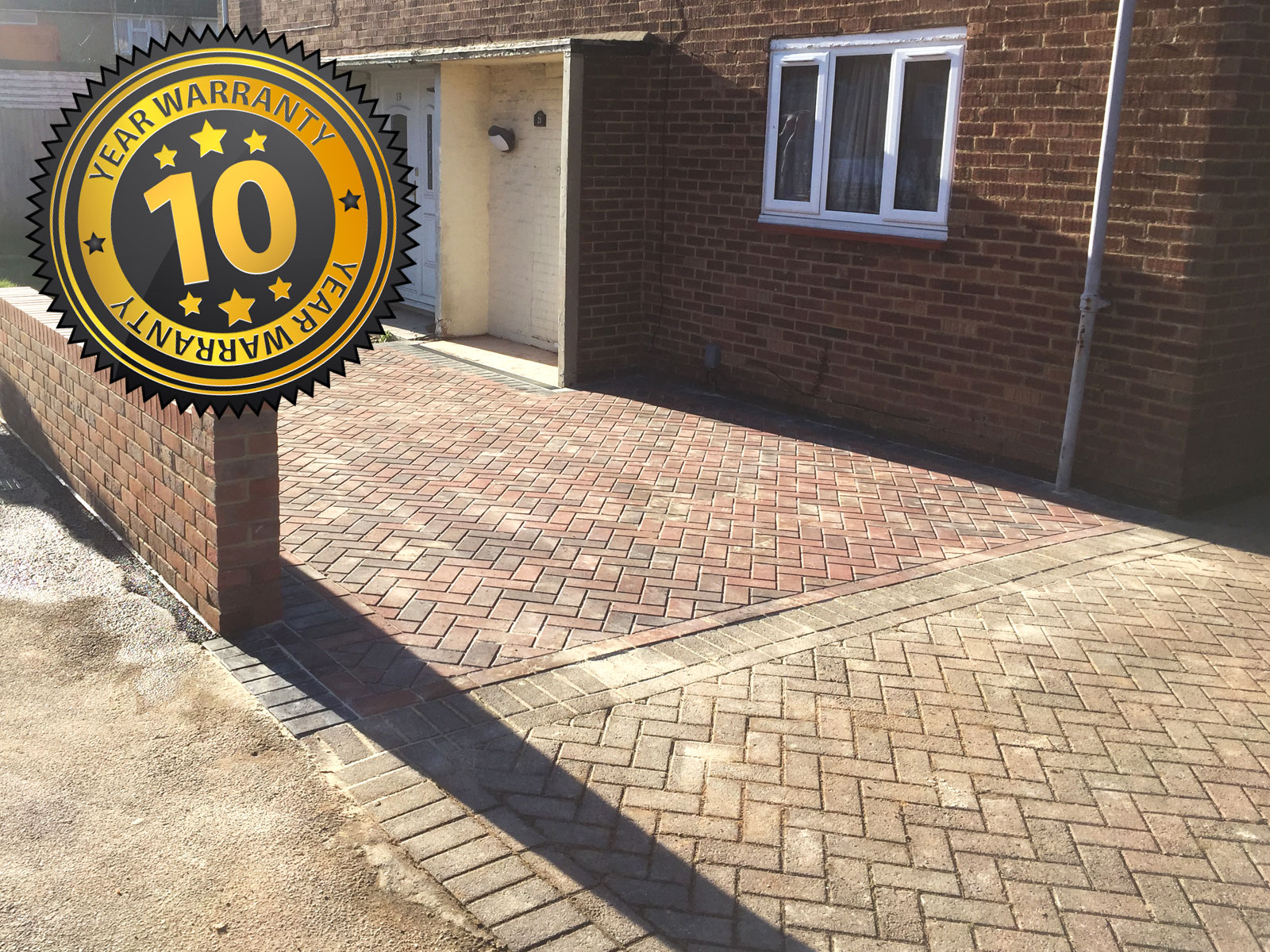 New block driveway, hemel hempstead, new driveway company