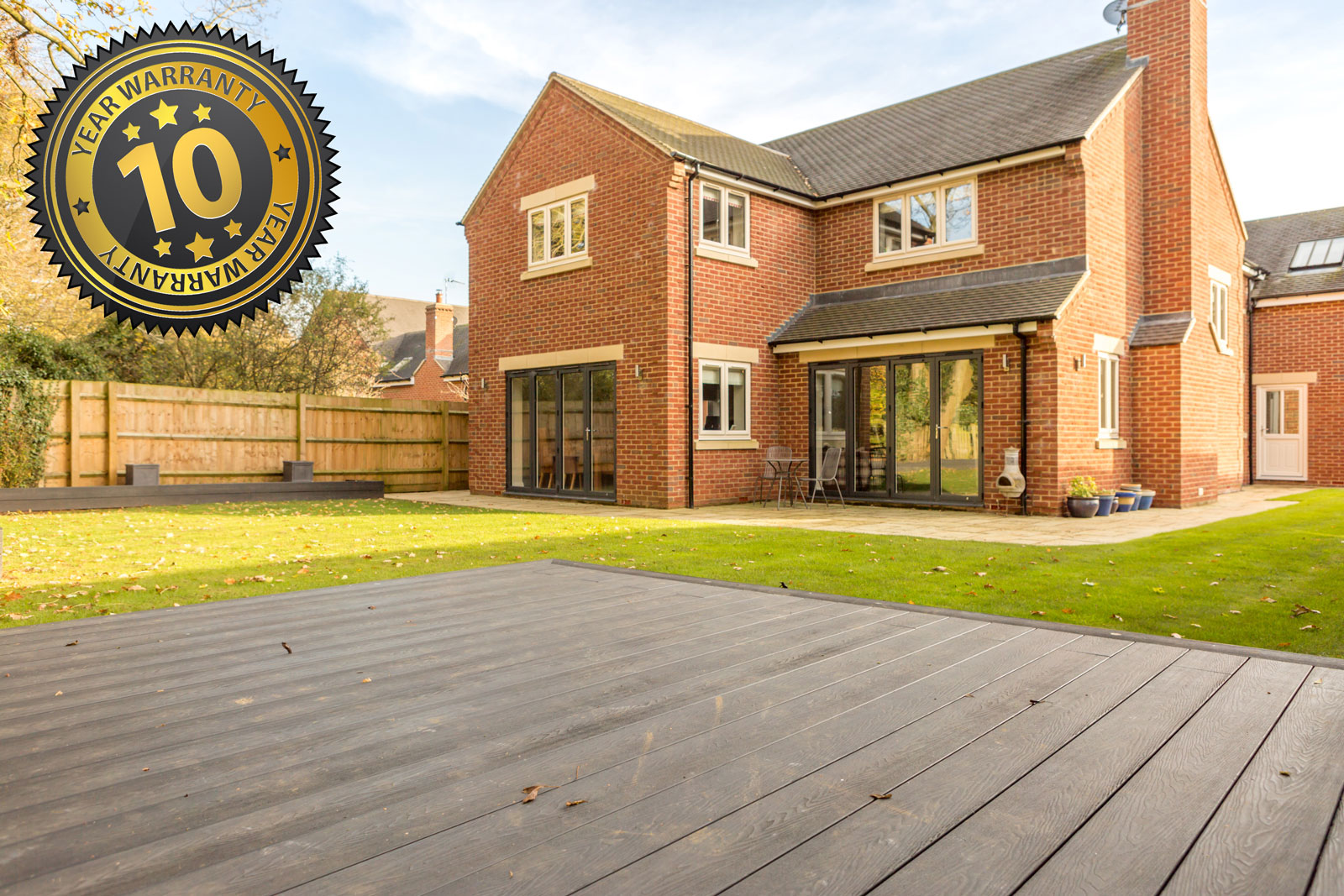New Composite Decking, Bloxham, New Driveway Company