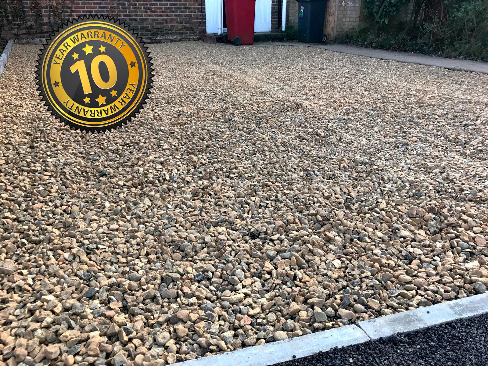 New gravel driveway, Slough, New Driveway Company